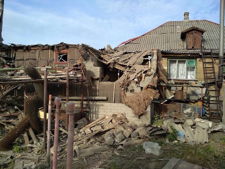 Обстрелы вДНР: Горловка под огнем ВСУ. Ранен мирный гражданин