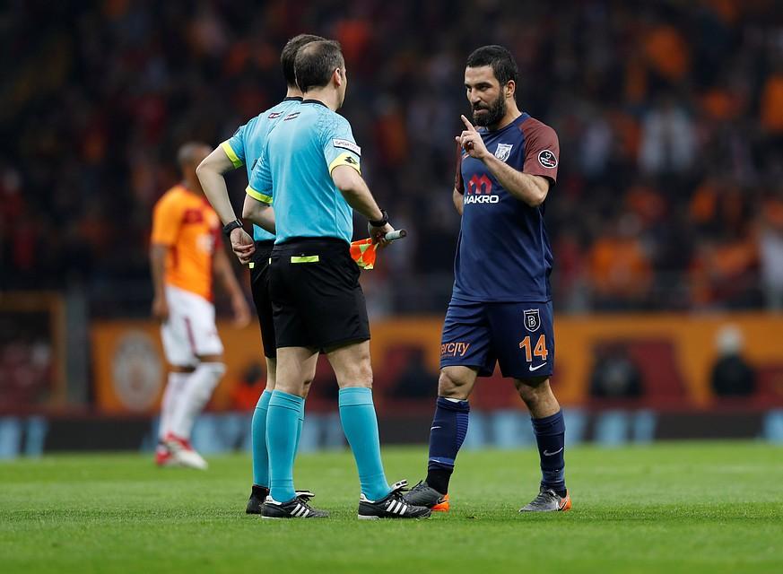 Арда Туран отстранен на16 матчей занападение насудью