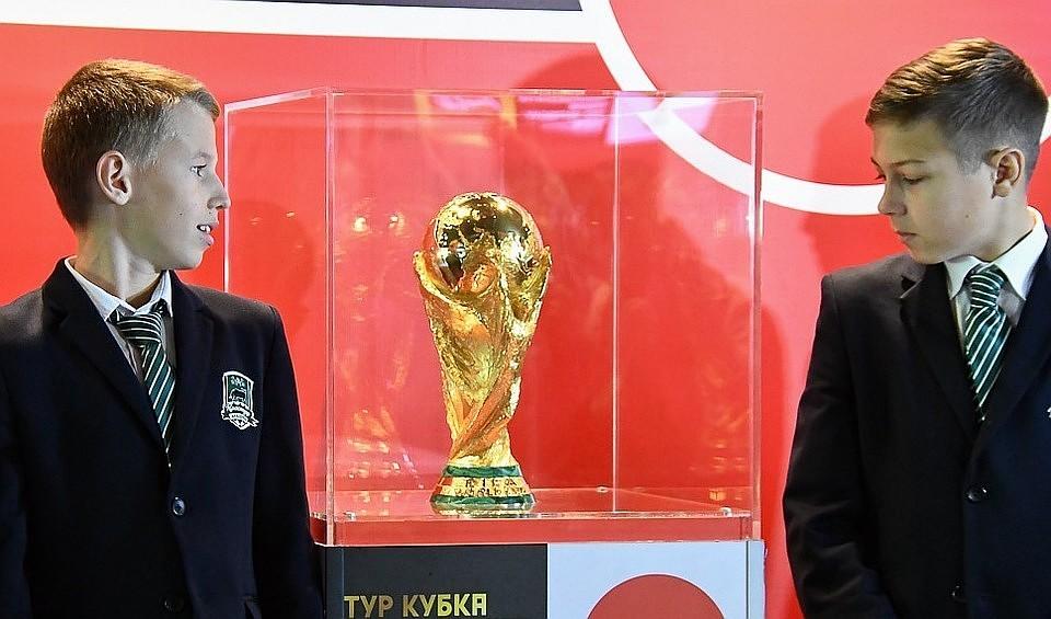 Кубок мира прибыл вСамару