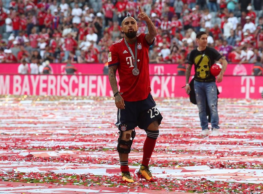 Футболист «Баварии» Артуро Видаль может отправиться зарешетку