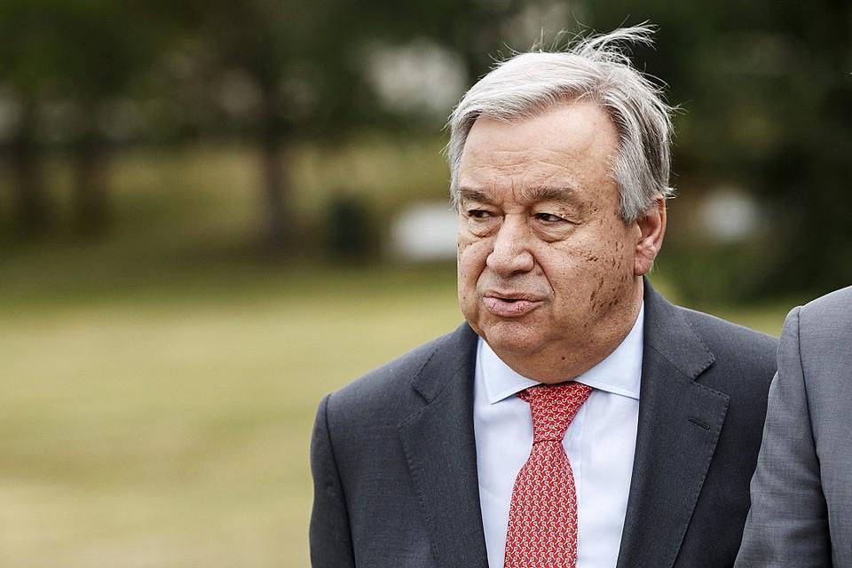 Миротворцы ООН наДонбассе: Порошенко иГутерреш провели главные переговоры