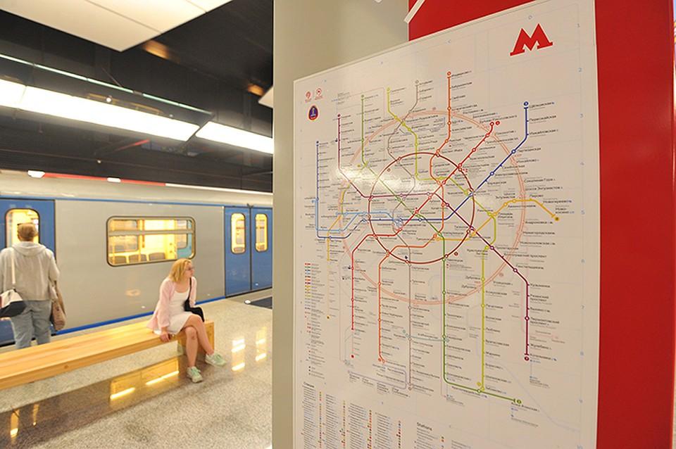 Участок «красной» линии метро до«Столбово» закончат доконца года