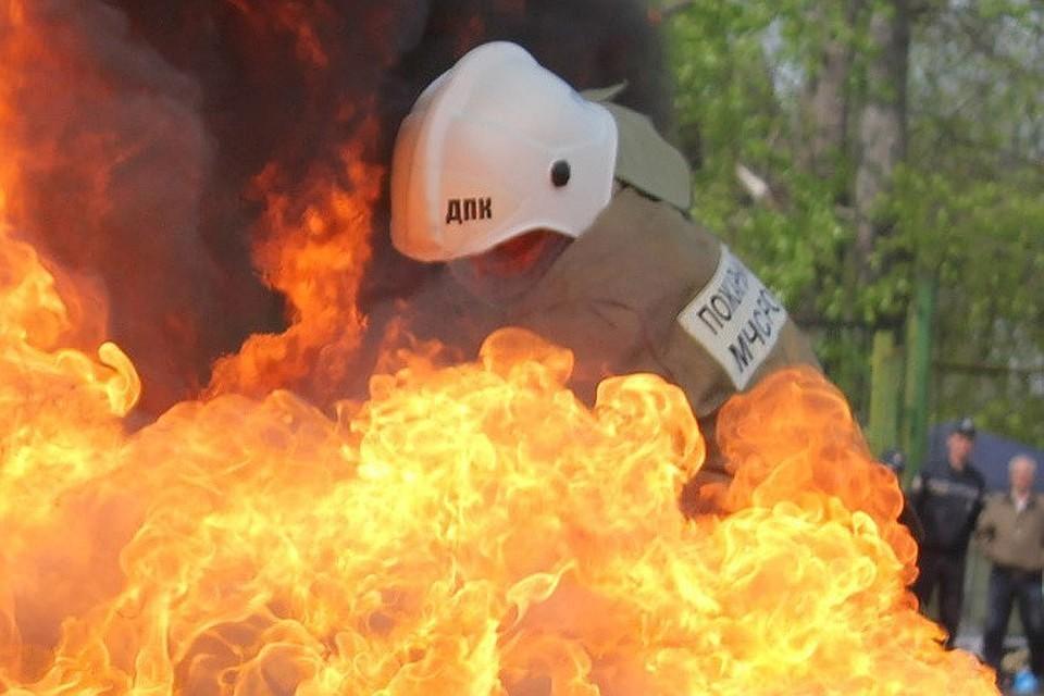 Огонь ликвидировали за 10 минут