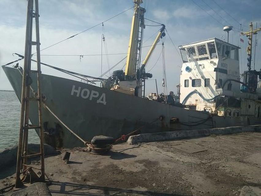 Генпрокуратура Украины: моряки судна «Норд» могут уехать, ихникто не держит