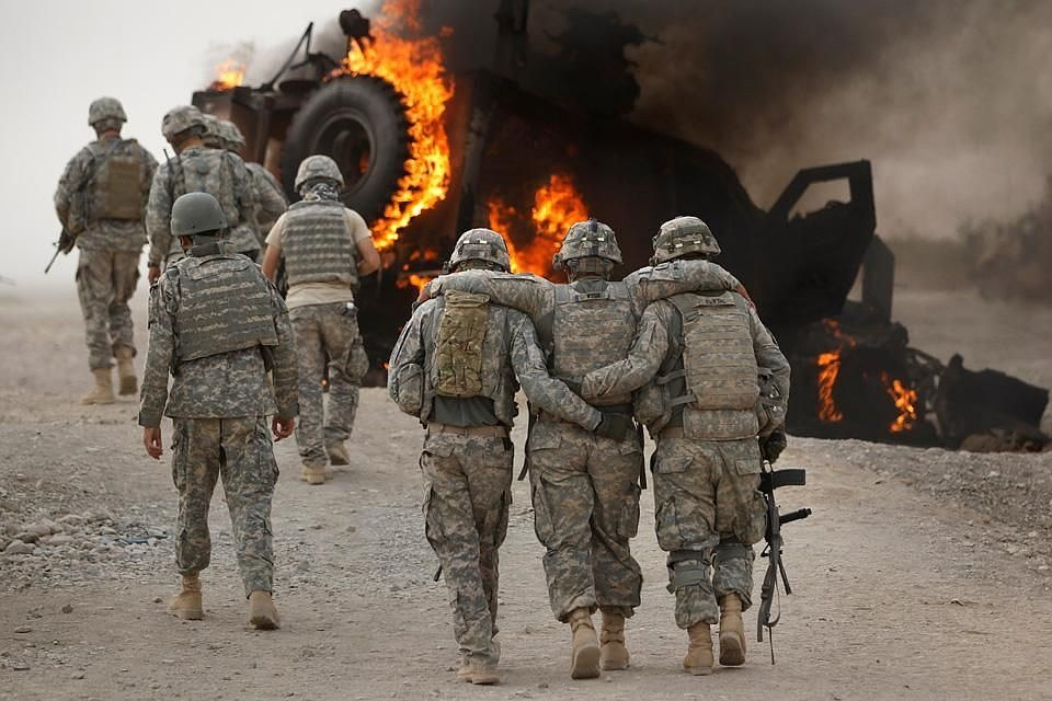 Семь человек пострадали при взрыве автомобиля уколонны иностранных военных вАфганистане
