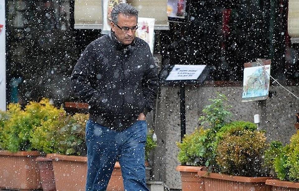 ВТурции вразгар туристического сезона выпал снег