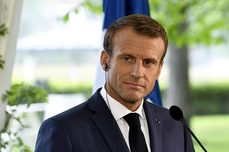 Макрон объявил , что Путин желает  «демонтировать Евросоюз»