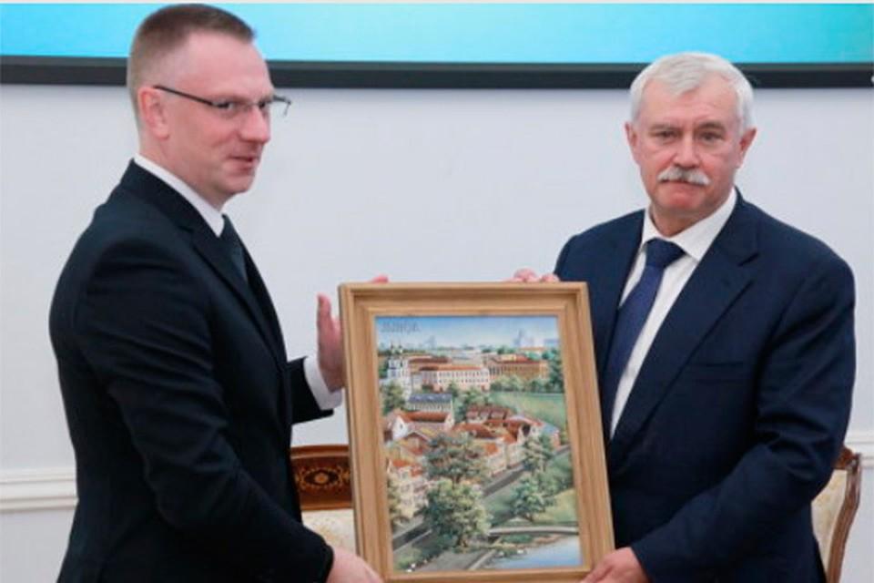 Кибитов: Петербург иМинск договорились осотрудничестве до 2020