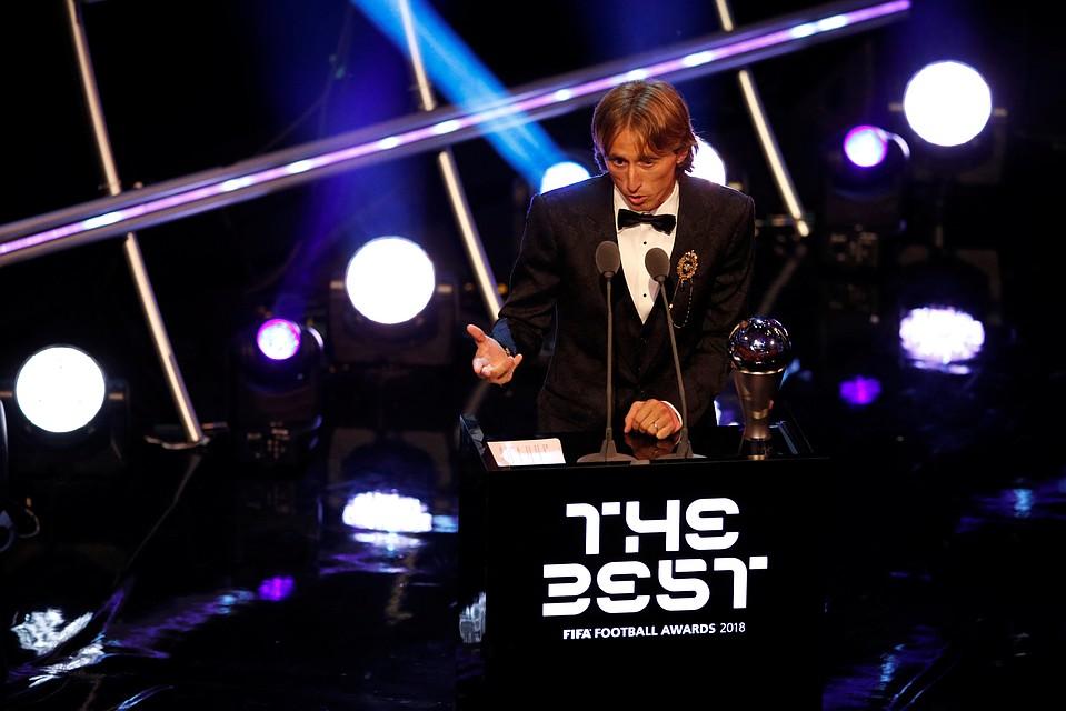 FIFA назвала Модрича лучшим игроком мира в этом 2018-ом году