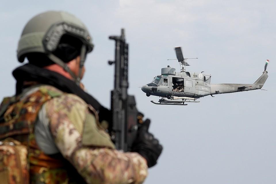 Голландские военные поехали научения вНорвегию изамерзли