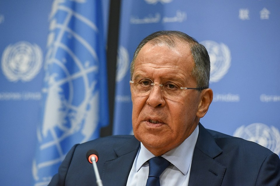 Лавров объявил омощном давлении на Российскую Федерацию