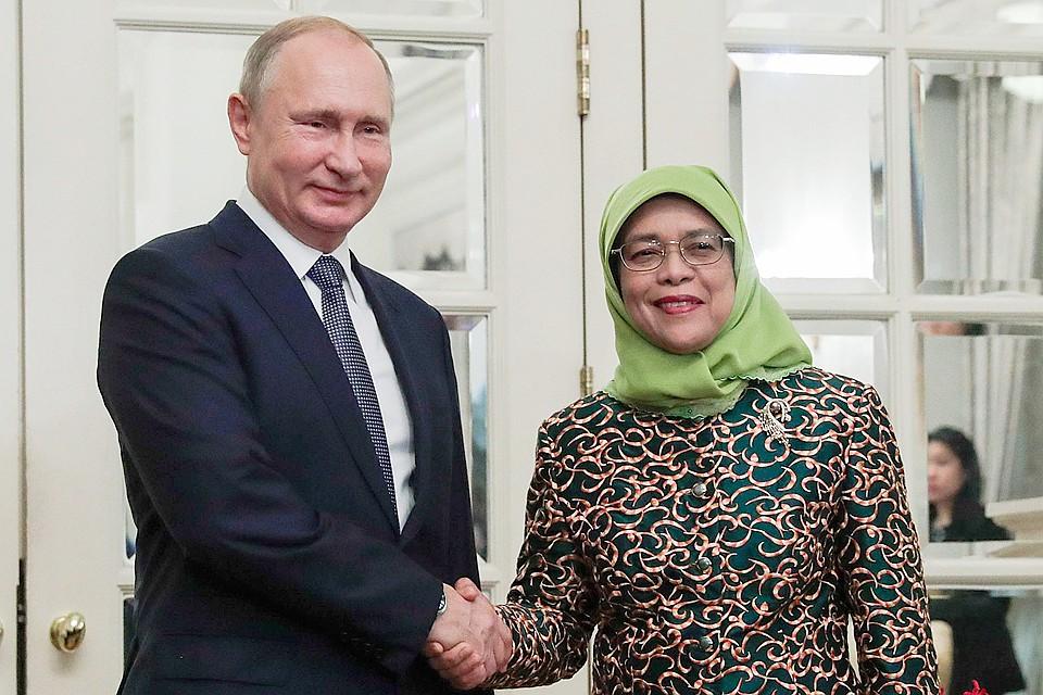 «Хороший пример развития»: Владимир Путин сравнил Сингапур сМосквой