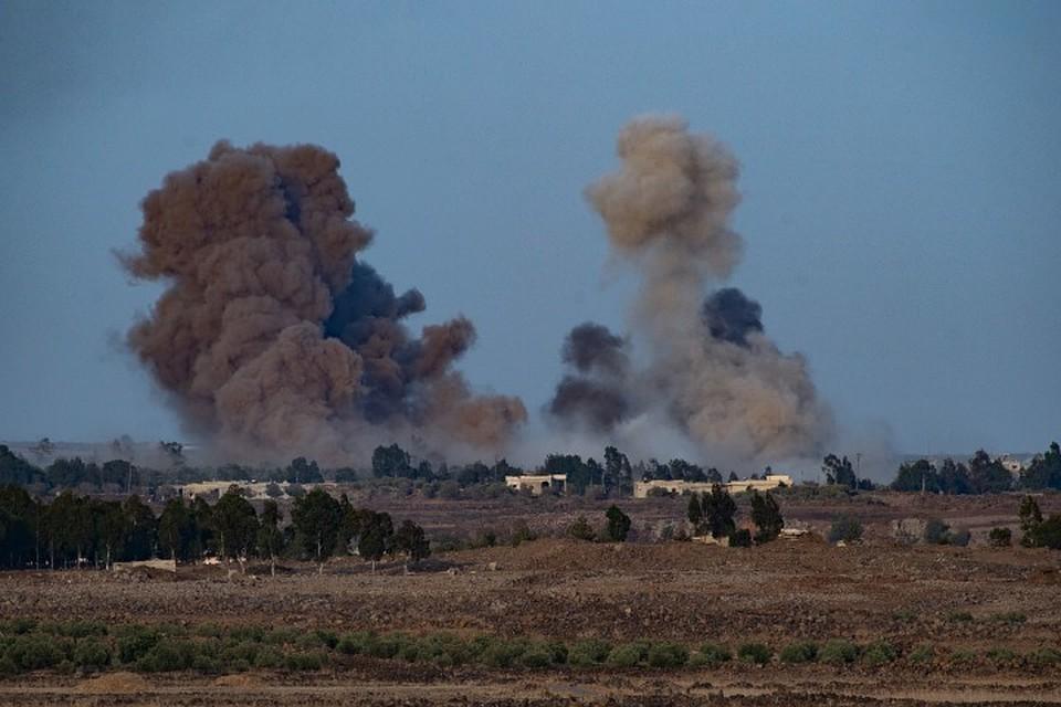 Врезультате авиаудара коалиции поСирии погибли мирные жители— САНА
