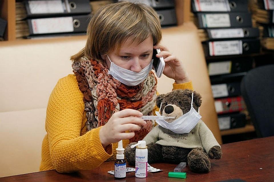 Заболеваемость гриппом и ОРВИ в регионе увеличилась на 0,39%