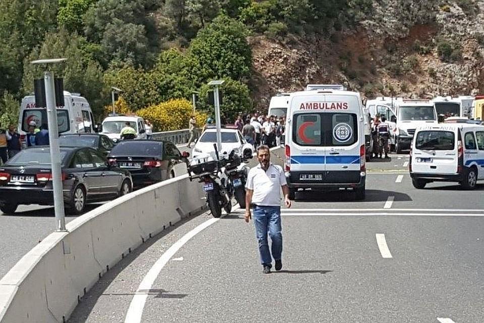 ВТурции туристы попали вДТП: пострадали 11 человек