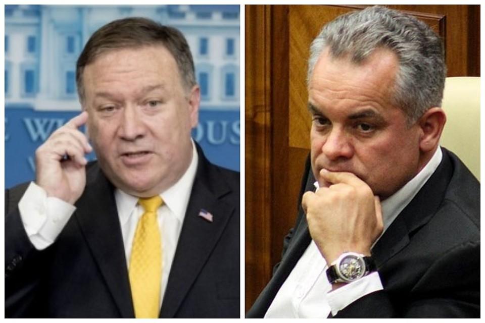 США наложили санкции наВлада Плахотнюка, его супругу  идетей