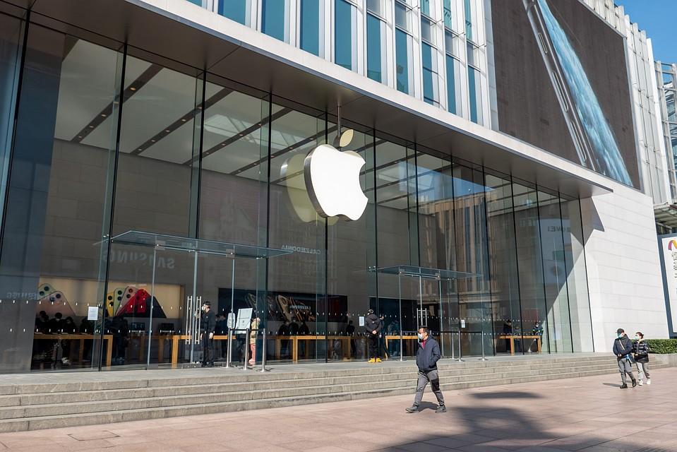 Apple закрывает все магазины запределами Китайская республика