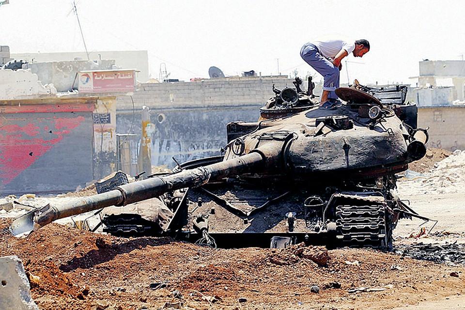 Улицы сирийских городов превратились в поля битвы. Битвы Запада за мировое господство.