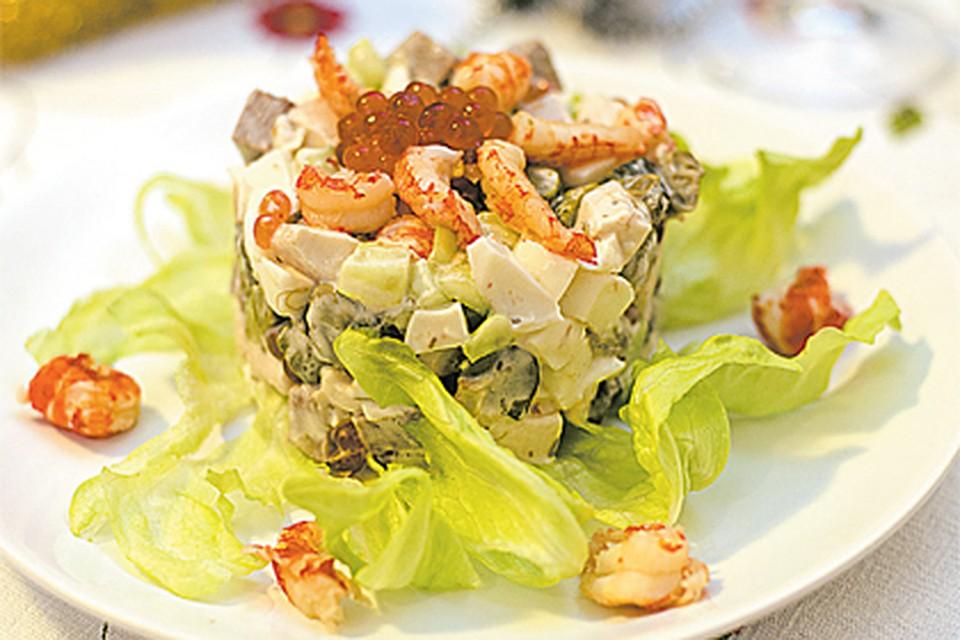 Вкусненькие салатики с рецептами и фото