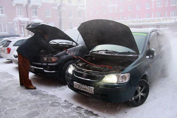 Машина не заводится в холод что делать