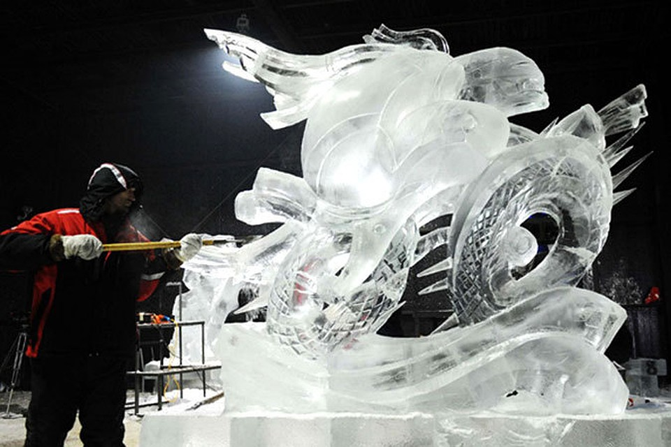 Международный конкурс ледовой скульптуры