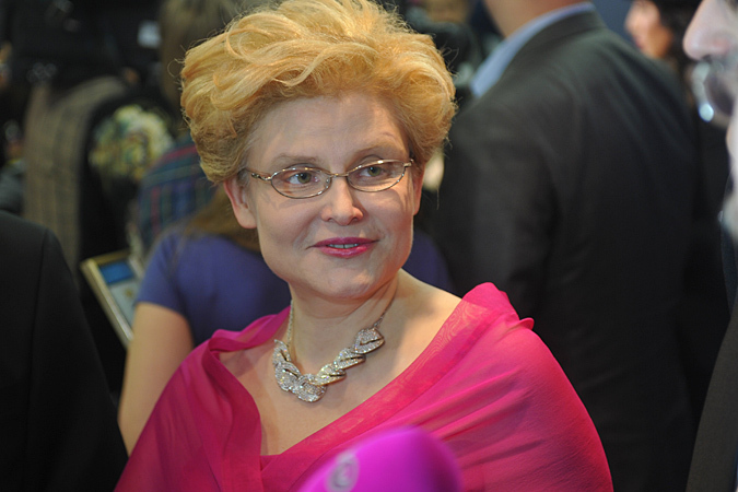 Известная телеведущая и врач Елена Малышева