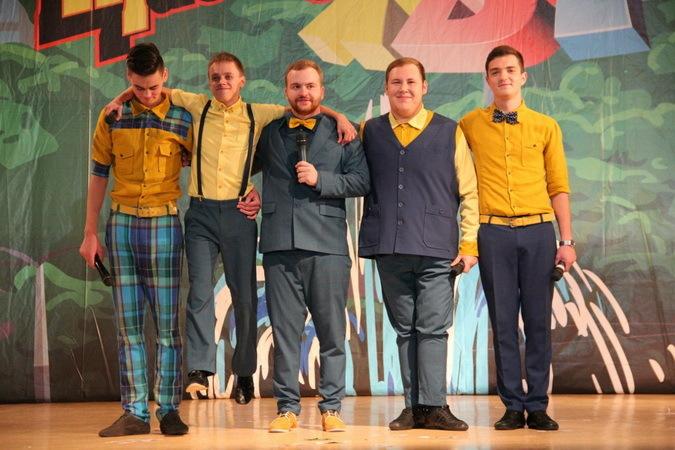 Новосибирская команда КВН «Экскурсия по городу» готовится к «большой» игре.