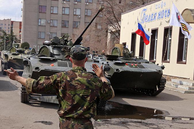 Самооборона Славянска обзавелась бронетехникой