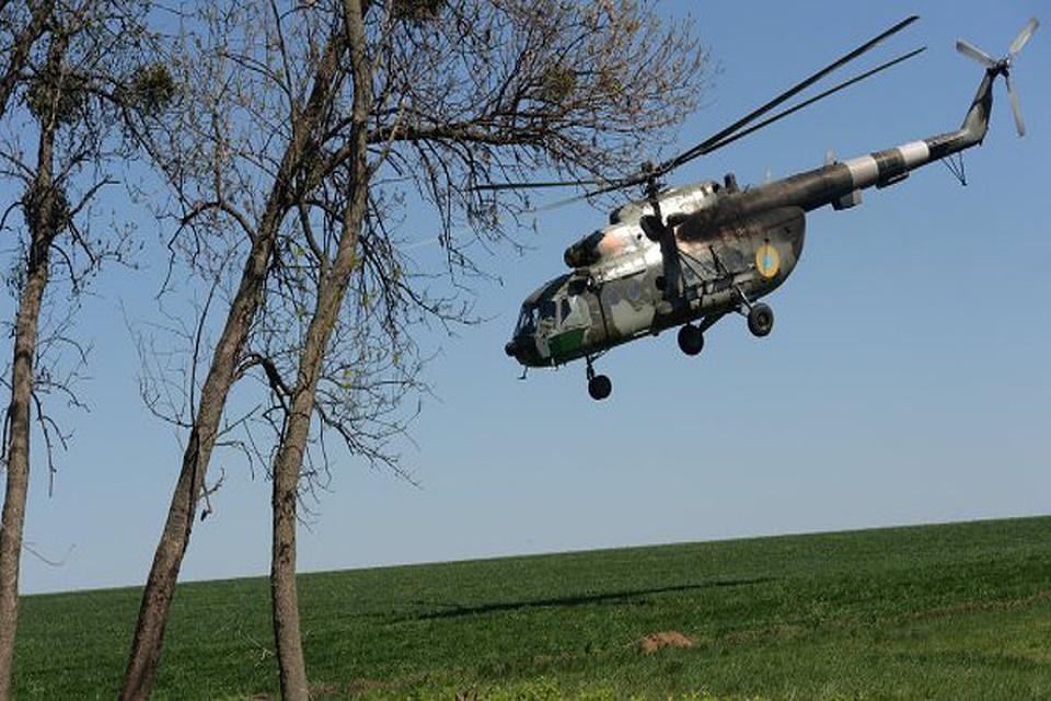 Над Славянском сбили третий вертолет