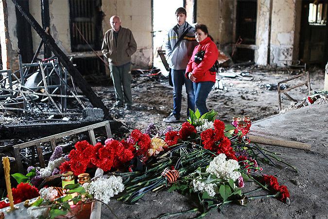 Корреспондент «КП» из Одессы: следствие по трагедии 2 мая не ведется Фото: Нигина БЕРОЕВА