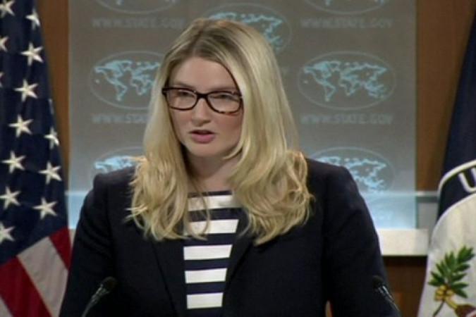 Официальный представитель госдепартамента США Мари Харф