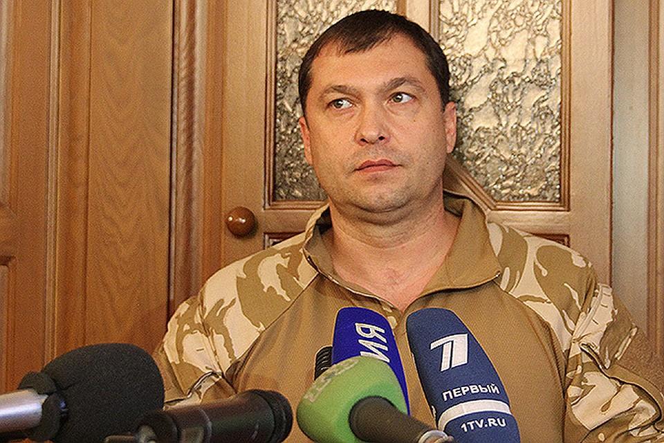 Глава ЛНР Болотов подал во временную отставку