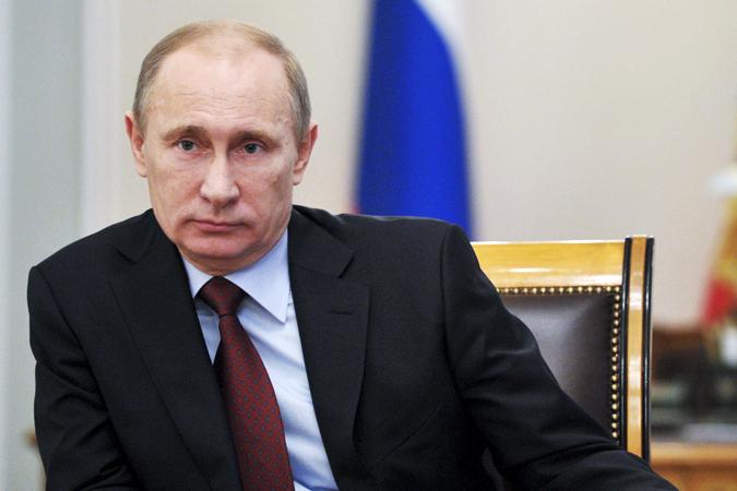 """Владимир Путин: """"Ополчение достигло серьезных успехов в пресечении силовой операции Киева, представляющей смертельную опасность для населения Донбасса"""""""