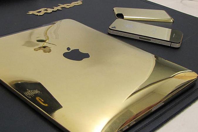 Компания выпустила iPad в корпусе цвета золота