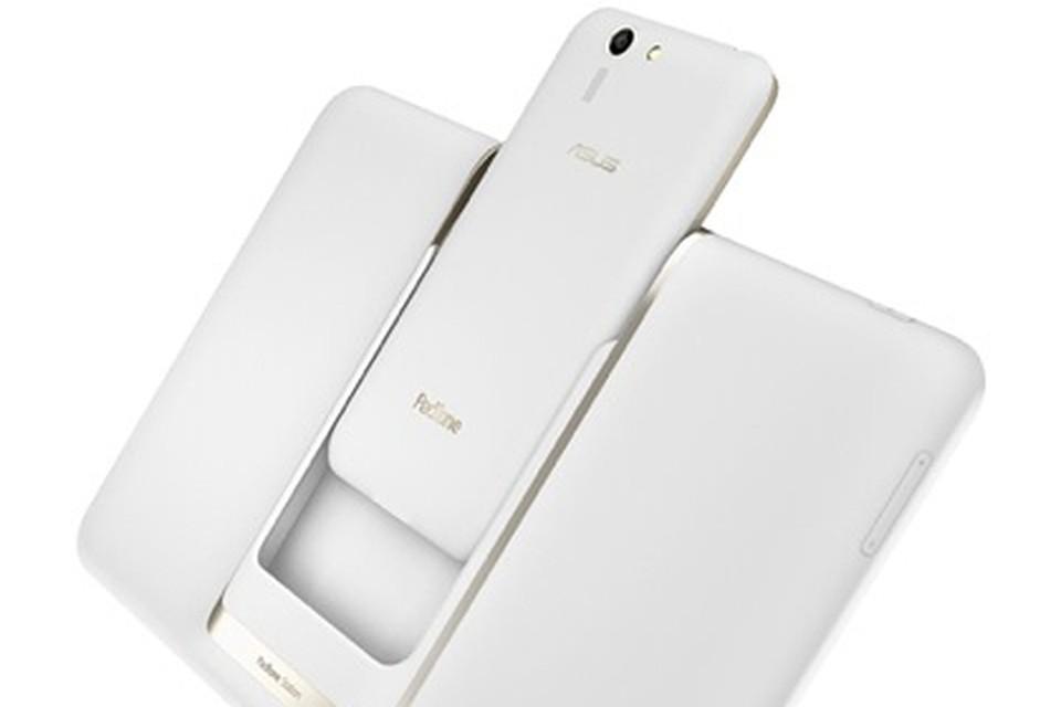 Фишка Asus: смартфон может быть интегрирован в планшет. Фото Asus.