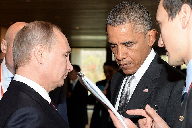 Разговор Владимира Путина и Барака Обамы на саммите АТЭС