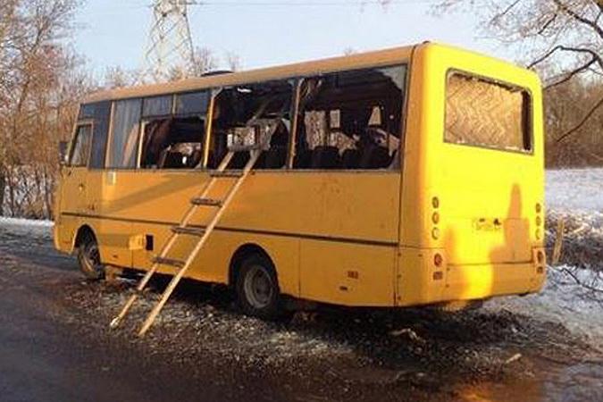 На Украине не утихают страсти по поводу расстрела рейсового автобуса, ехавшего 13 января из Мариуполя в Донецк