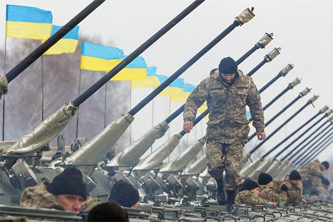 Дух украинской армии в последнее время оставляет желать лучшего