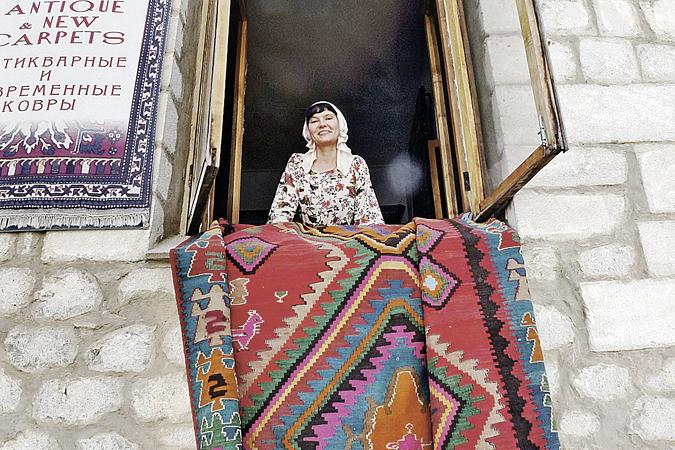 Алену Стерлигову наш спецкор нашел в городке Шуша в Нагорном Карабахе.