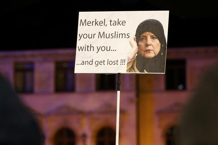 В Германии проходят митинги против исламизации Европы
