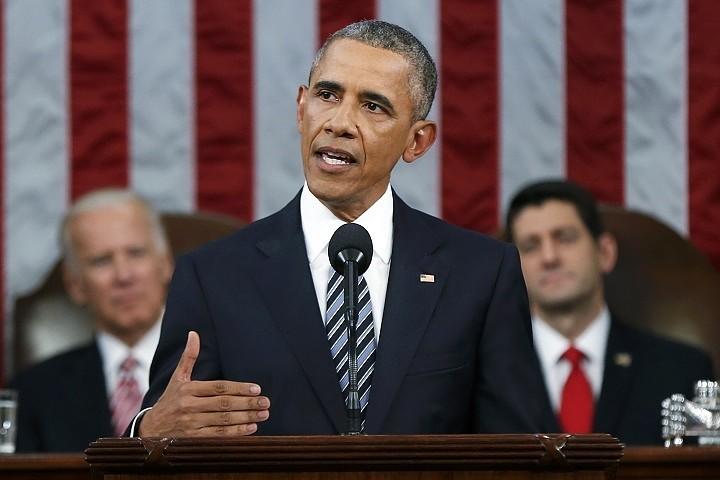 Сегодня Барак Обама выступил со своим последним посланием к Конгрессу