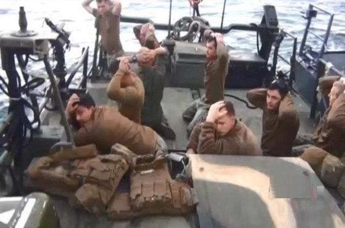 Иранские военные сняли задержание американских моряков на видео