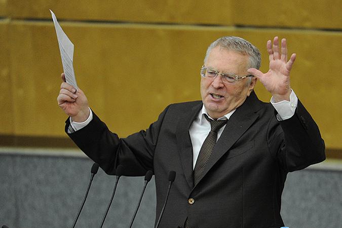 Владимир Жириновский все равно был громче всех