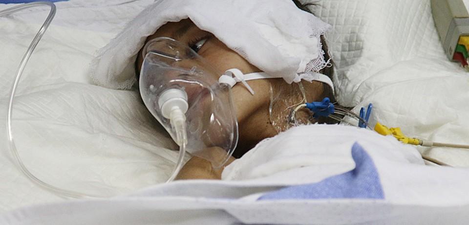 Центральная городская больница Дамаска полдня принимала раненых — военных, женщин, детей