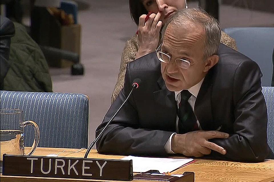 Постпред Турции при ООН Халит Чевик
