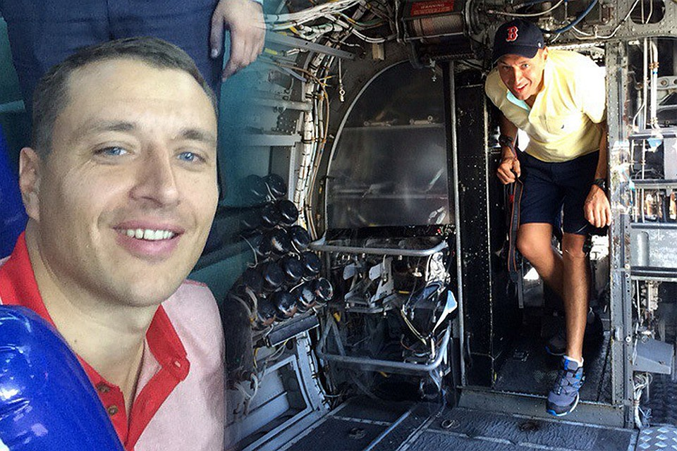 Пилот авиакомпании ORENAIR, успешно посадивший самолёт с одним двигателем Константин Парикожа. Фото: личная страничка Вконтакте