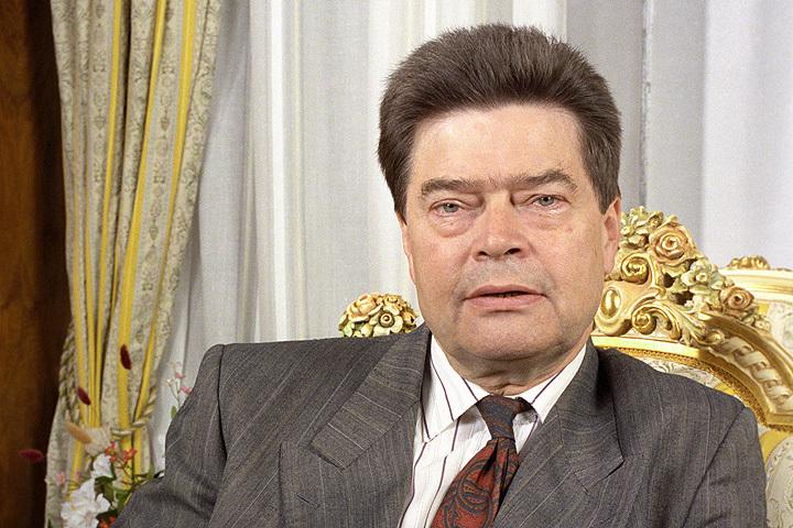 Борис Панкин в 1991 г. Фото Эдуарда Песова /Фотохроника ТАСС