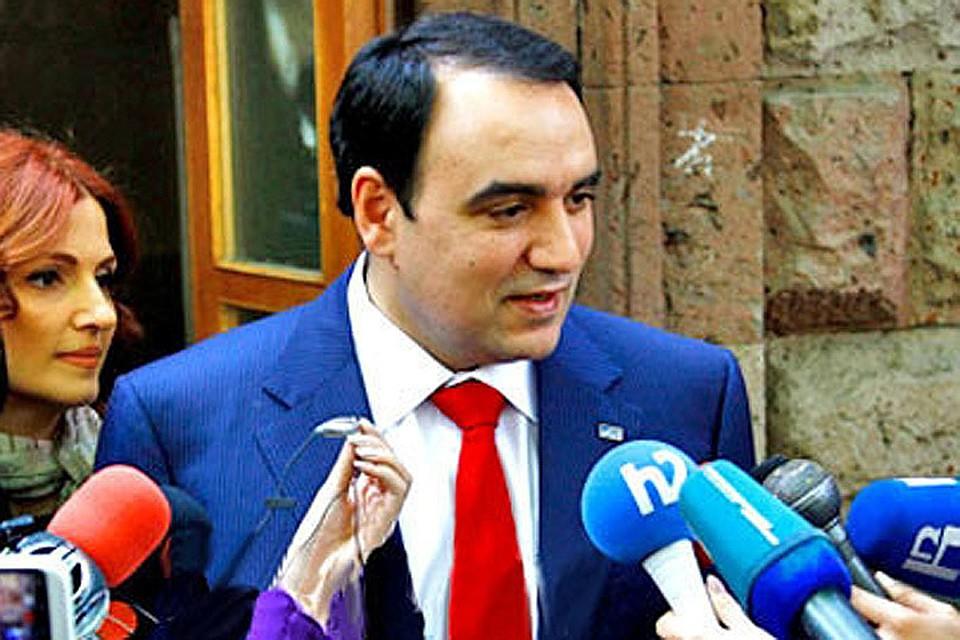 Видный армянский политик Артур Багдасарян: «Если потребуется, Армения выступит вместе с Россией против Турции». Фото: предоставлено пресс-службой