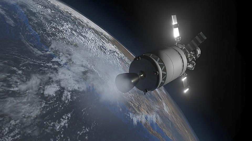 Вот так видят путешествие к Луне участники команды «Селеноход» (автор рисунка — Антон Антонов). Командя входит в состав компании Лин Индастриал.
