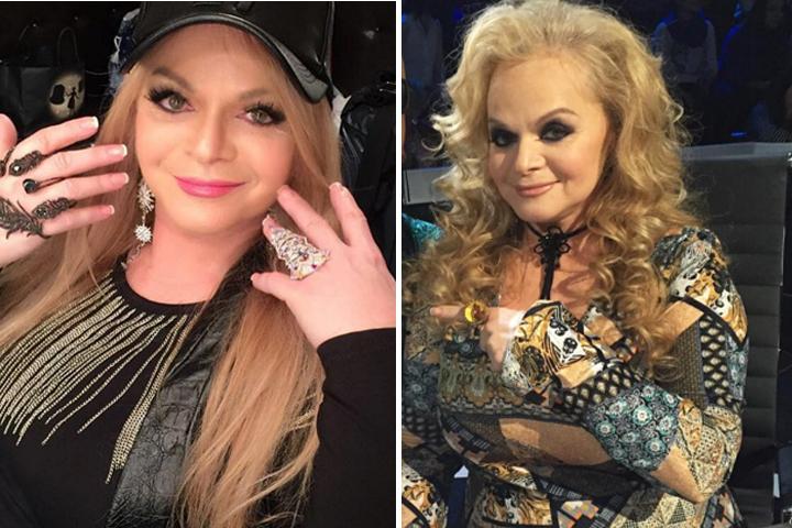 Справа: так Лариса выглядела всего несколько дней назад. Слева: а так она выглядит сейчас - преобразившейся и помолодевшей. Фото: Инстаграм.